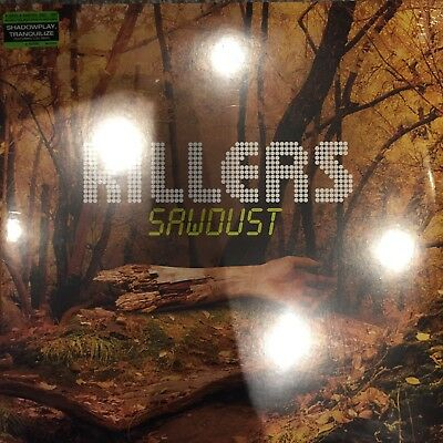 """The Killers """"sawdust""""  2 X Vinyl Lp New And Sealed"""