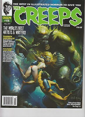 The Creeps Magazine Issue #11 Illustrated Horror Fall 2017
