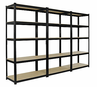 Heavy Duty Boltless Shelving Rack 5 Tier Home Garage/Shed Shop Display Garage x3