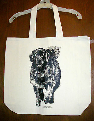 NEWFOUNDLAND Coming&Going 100% Cotton Canvas XL Tote Bag