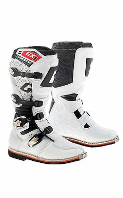 Gaerne Gx1 White Mx Boots Goodyear Sole Motorcross Moto-X Off Road Boots