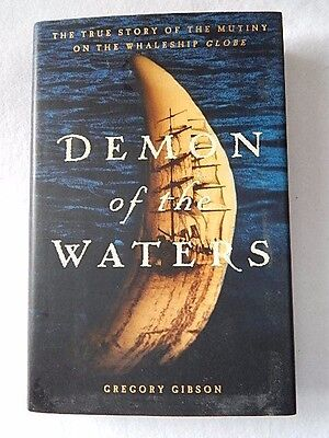 2002 Demon Of The Waters by Gregory Gibson-1st Edition-HCDJ