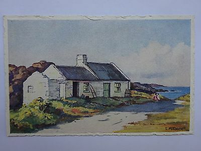 The Cottage By The Sea by L Murdoch postcard