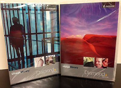 IMAGE LIBRARY DIAMOND 1-2 by Ingram ~ 1020 RGB images 300-dpi ~ BRAND NEW ~ $249