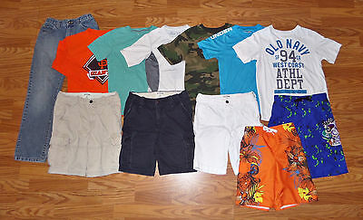 12pc Boys Clothing Lot Nike Under Armour Abercrombie Old Navy Size 10/12/14/M/L