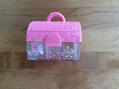 Vintage Rare 1976 My Melody Stamp Set HOUSE CASE - Case Only No Stamps MINT