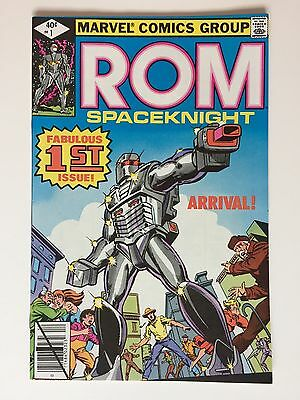 Rom #1 Marvel Comics - 9.6 Grade - Glossy Fresh Cover - White Pages - Very Sharp