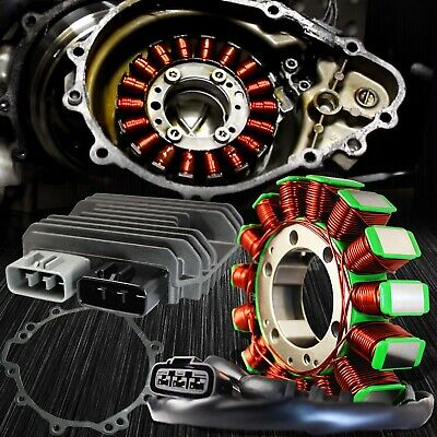 eMUSA OE Magneto Coil Stator+Voltage Rectifier+Gasket 09-12 ZX-6R 636 21003-0083