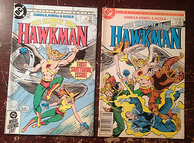 The Shadow War of Hawkman # 1 & 4 - DC Comics 1985