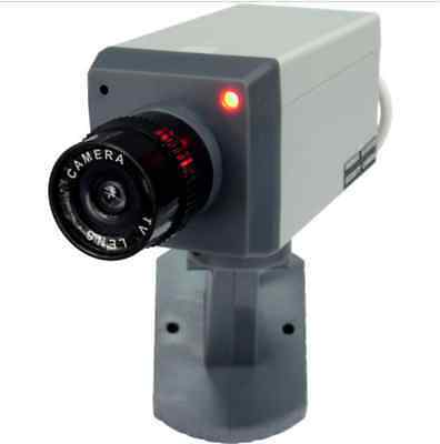 AB-BX-01Y1 Motion Activated Motorized Dummy Security Camera with Swivel Action