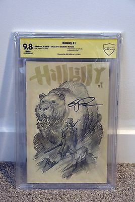 HILLYBILLY #1 SDCC Variant CBCS 9.8 SS (Not CGC) Signed by ERIC POWELL Only 500
