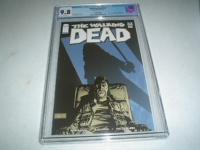 Walking Dead #33 2nd print CGC 9.8 White pages! Highest Graded