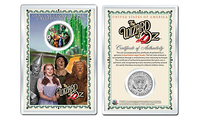 WIZARD OF OZ - Gatekeeper OFFICIAL JFK Half Dollar U.S. Coin in PREMIUM HOLDER