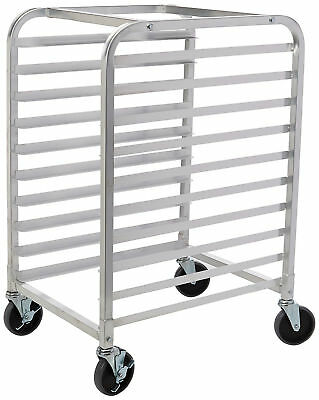 Star 1pc Commercial Kitchen 10 Tier Bun Pan Rack Sheet Pan Rack  Brake Wheel