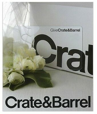 $250 Crate & Barrel Gift Card