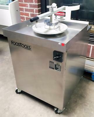Food Tools Cs-7A Round Product Crumb Crust Forming Spinning Bakery Machine