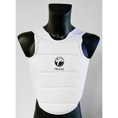 NEW Tokaido WKF-Style Karate Body Protector MMA Karate Chest Guard Sparring Gear