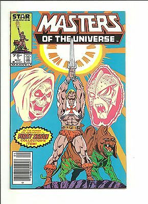 Masters of the Universe #1 Marvel Star 1986 He-Man high grade $2 start!