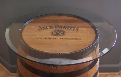 """Add a 30"""" Glass Top to Your Whiskey Barrel-GLASS TOP ONLY-FREE SHIPPING"""
