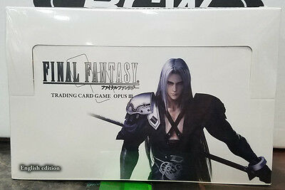 Final Fantasy Trading Card Game Opus 3 (III) Booster Box - Sealed in box