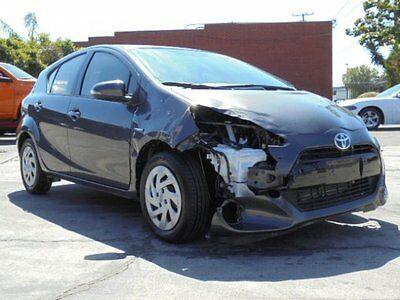 2016 Toyota Prius c 2016 Toyota Prius c Wrecked Repairable Only 15K Mi Economical Perfect Project!!