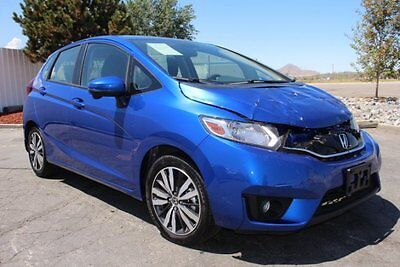2016 Honda Fit EX 2016 Honda Fit EX HB Damaged Salvage Only 2K Mi Perfect Project Priced to Sell!!
