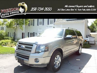 2008 Ford Expedition Limited 2008 Ford Expedition Silver Black SUV 4 Wheel Drive Limited EL V8 Automatic