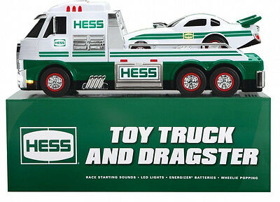 2016 Hess Toy Truck & Dragster Brand New In Mint Sealed Box