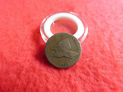 1858 Flying Eagle Cent Large Letters Coin Penny