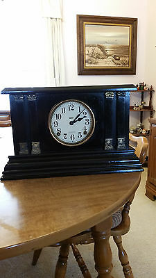 Antique Ingraham 8 day clock