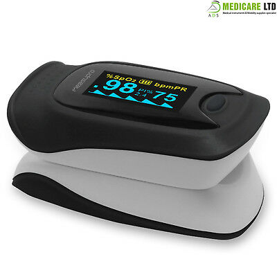 Small Lightweight Fingertip Pulse Oximeter SP02 OLED Pulse Heart Rate Monitor CE