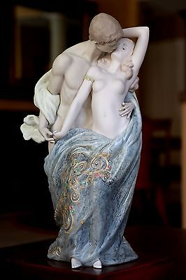LLADRO Passionate Lovers #1914 Mint Limited Edition
