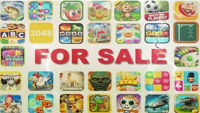 250  awesome android, ios unity source code, mobile apps.Clean codes