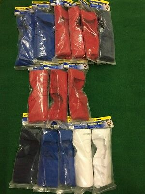 New Champro Softball Sliding Knee Shin Pad Bulk Lot (15 Pair) Small/Medium/Large