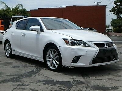 2015 Lexus CT 200h Hybrid 2015 Lexus CT 200h Wrecked Repairable Perfect Commuter Luxurious Export Welcome!