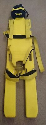 Spinal Board and Head Brace
