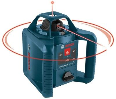 Rotary Laser Level Kit Self-Leveling 5-Piece Complete 800 Feet By Bosch