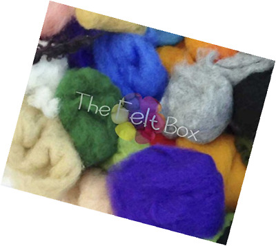 Waste Wool for Felting Carded Wool Oddments Needle Felting Wool Tops Spinning