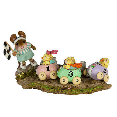 RACY CHICKS by Wee Forest Folk, WFF# M-609, New for Easter 2017