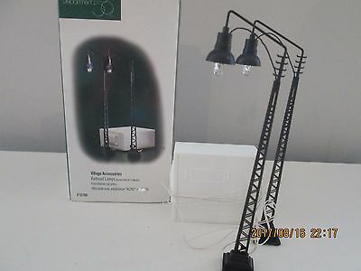 Department 56  Railroad Lamps set 2  Village Accessories #52760