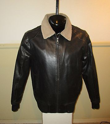 Men's WHISPERING SMITH Black Insulated Full Zip Jacket Size L