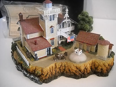 Harbour Lights Society Exclusive #542 East Brother, CA Lighthouse w/ Box & COA
