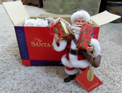 "NOS Possible Dreams Clothtique 800582 titled ""Santa Delivers""  Unopened Carton"