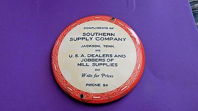 30's Southern Supply Co.,Jackson Tenn.Advertising Pocket Mirror