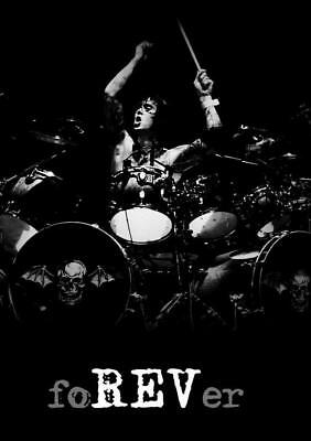 The Rev Wall Poster Avenged Sevenfold Reverend Heavy Metal (Sz: A4 A3 A2 A1 A0)
