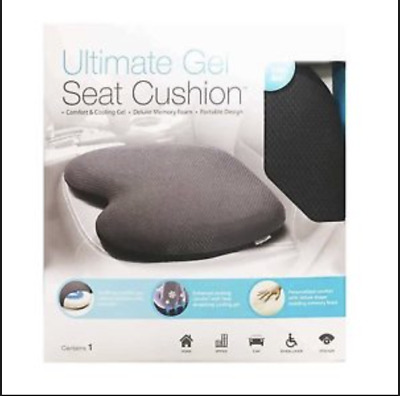 GENUINE Ultimate Gel Seat Cushion Premium Quality Freepost Superfast Delivery!!