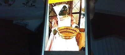 Vintage  Aunt Jemima with apple  Basket Bottom 33 inches tall
