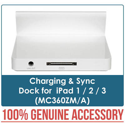 New 100% Genuine Charging & Sync Dock for iPad 1 2 3 MC360ZM/A