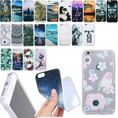 Shockproof Ultra-thin Slim Soft Cute TPU Silicone Case Cover For Huawei &OnePlus