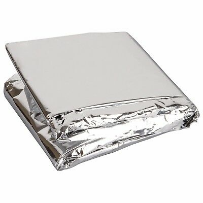 Survival Emergency Blanket. New. Thermal Foil Camping Rescue First Aid Shelter